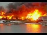 Расстрел пожарных во время тушния пожара в США