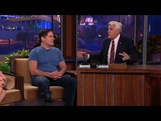 Mark Cuban & V.Hudgens - The Tonight Show with Jay Leno